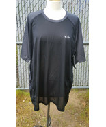 Champion C9 Shirt Duo Dry S9658 Black White Blue Running Athletic Shirt NWT - $9.99