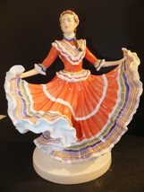 Royal Doulton Dances of the World Mexican Hat Dance Figurine HN 5643  - $257.40