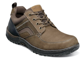 Nunn Bush Quest Moc Toe Oxford Walking Shoes Tan Multi  84829-238 - €69,77 EUR