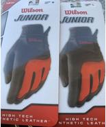 Wilson Junior High Tech Synthetic Leather Golf Glove, Junior M & L Left ... - $10.66