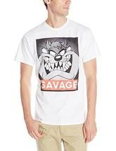 Fifth Sun, Men's Savage Taz Short-Sleeve T-Shirt, White, Small - $11.88