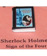 DOLLHOUSE Book Sherlock Holmes: Sign of the Four Jacqueline's B6040C Min... - $2.61