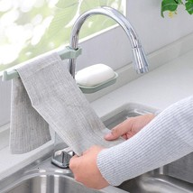 1pc Sponge Bathroom Kitchen Faucet Clip Dish Cloth Clip Shelf - €4,37 EUR