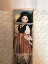 "Knowles Heroines from The Fairy Tale Forest ""Snow White"" Porcelain Doll  - $23.38"