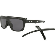Oakley Crossrange Shield OO9390-01 Polished Black Warm grey Sunglasses C... - $98.99