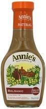 Annie's Gluten Free Natural Balsamic Vinaigrette Dressing 8 fl oz Bottle