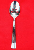 Pierced Serving Table Spoon Towle Living Collection TWS515 Stainless Fla... - $18.81
