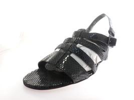 Vaneli women's Sandals Strappy Black Size 8.5 - $33.65