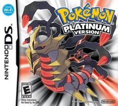 Pokemon: PLATINUM Version (Nintendo DS, 2007) NEW - $54.95