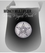MONEY MULTIPLIER magical pouch to bring forward GREAT wealth & ease - $69.00