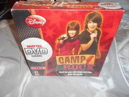 DISNEY CAMP ROCK DVD GAME  - $9.50