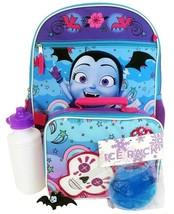 "Vampirina Disney 16"" 5-Piece Backpack Set + Insulated Lunch Bag + Bottle Nwt $40 - $22.99"