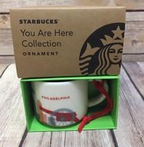 Starbucks You Are Here Philadelphia Ornament YAH Mini Mug New - $29.69