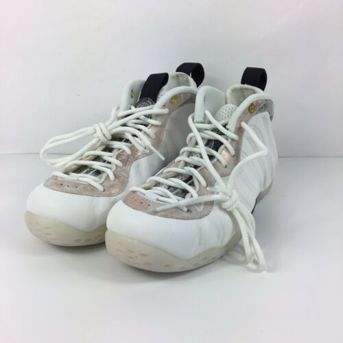 Nike Air Foamposite One Womens Size 9 Shoes Summit White Marble AA3963 101