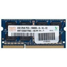 Hynix 2GB DDR3 Ram PC3-10600 204-Pin Laptop Sodimm - $9.55
