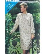 Non Tagliati Vintage Butterick Cartamodello Misses Vestibilità Comoda Pu... - $4.83