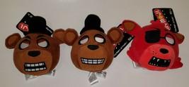 NWT 3 Five Nights At Freddy's Plush Lot Funko Stuffed Animal Toy Lot Fre... - $17.77