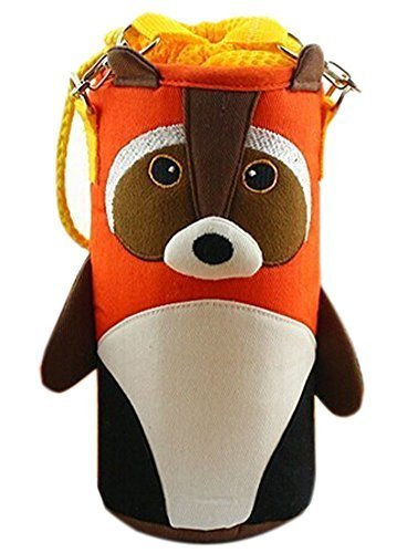 Lovely Baby Bottle Messenger Bag/Keep Warm (2299CM),Orange Raccoon