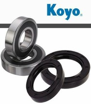 Front Wheel Bearings & Seals for Kawasaki Z750 ZX9R ZX10R ZXR400 ZZR600 - $21.26