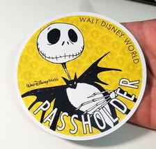 Homemade Disney AP Passholder Magnet Nightmare Before Christmas Jack Skellington - $8.95
