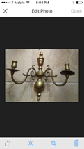 Brass Beautiful Wall Candlelabra - $99.99