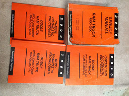 2000 Dodge Ram Truck 1500 2500 3500 Service Shop Repair Manual SET W DIAGNOSTICS - $237.59