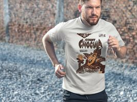 Count Chocula Dri Fit graphic T-shirt moisture wicking monster cereal SPF tee image 3