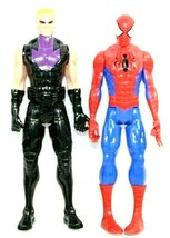 "HASBRO Marvel 11.5"" Tall Action Figures 2013 C-3632B & 2014 C-3252B Lot ... - $17.21"