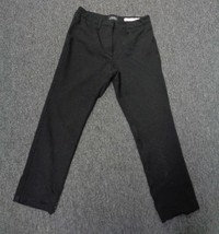 NOT YOUR DAUGHTERS JEANS Black Casual Straight Pant Relaxed Fit SZ 30 SM... - $29.67