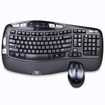 Logitech MK570 Comfort Wave Wireless Keyboard & Laser Mouse Combo w/USB ... - $47.63