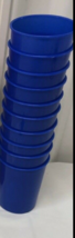 kiddie cups, blue cups only - $0.99