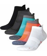 Low-Cut Pro Running Socks Multicolor 1 x Caribbean Blue, 2 x Black, 2 x ... - $16.89