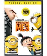 Despicable Me 3 DVD 2017 Brand New Animation Children Family - $8.50