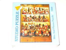 NEW Santa Collector Puzzle Studio Bits And Pieces 1000 Lynn Jameson 2003... - $13.04