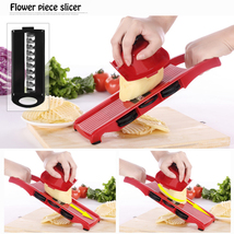 Multi-function 8in1 Plastic Vegetable Fruit Slicers Cutter Grater Peeler... - $24.63