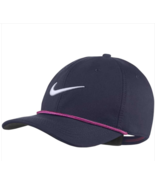Nike Golf Cap Classic 99 Rope Blue Thunder Aerobill Adults Size Cotton New - $24.99