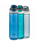 Hot Sale Contigo Tritan Autospout 24oz Chug Water Bottle, 3-pack - $37.62