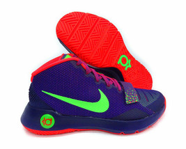NEW Mens Nike KD Trey 5 III Basketball Shoes Court Purple/Green/Crimson - $80.00