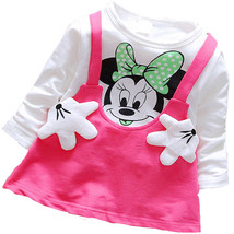 An item in the Baby category: 2016 baby dress lovely autumn Minnie long-sleeved T-shirt fashion style baby dre