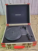 Crosley CR6019A-RE Portable Retro Style USB 3-Speed Turntable Record Player Case - $96.74