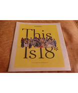 This is 18, a NY Times Special Report: Girls as Seen Through Their Eyes ... - $22.95