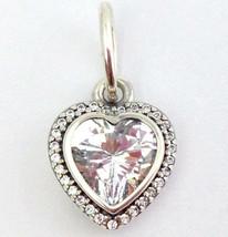 Auténtico Pandora Brillante Amor Corazón Cz Charm Colgante 390366CZ,Nuevo - $44.87