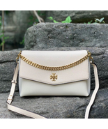 Tory Burch Kira Mixed-Materials Double-Strap Shoulder Bag - $448.00