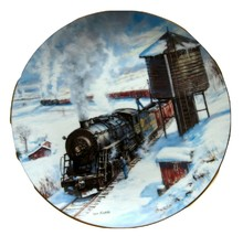The Long Haul from the Winter Rails plate collection in 1993 from  Hamilton - $10.00