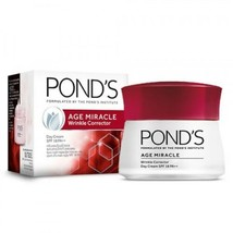 3 X POND'S Age Miracle Wrinkle Corrector Day Cream SPF 18 PA++ 10 Gram - $19.66