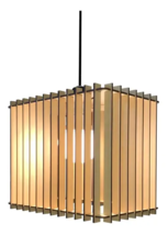 Handmade ceiling hanging Mdf Wood lamp to decorate and illuminate in a  ... - $60.00