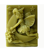 egbhouse, Silicone Mold, soap/plaster/polymer clay, 2D - Luna- Fairy of ... - $27.72