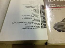 2002 LEXUS RX300 RX 300 Service Shop Repair Manual SET FACTORY E EWD & TRANS x image 3