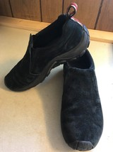 Merrell Jungle Moc Casual Slip On Shoes - Women's Size 8.5 Black Leather - $25.00