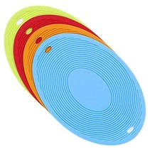 Silicone Trivets for Hot Dishes, Flexible Hot Pads Non Slip Heat Resista... - $18.70